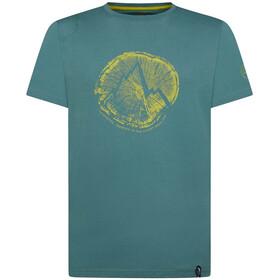 La Sportiva Cross Section T-Shirt Heren, petrol